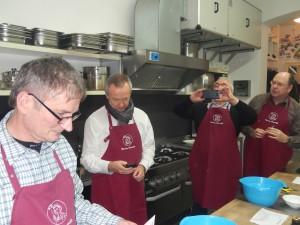 """Abendprogramm: gemeinsames Kochen und Essen im """"runnning housewife"""" in Potsdam"""