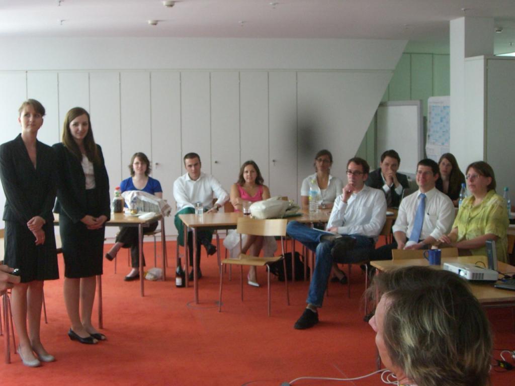 Präsentation im dussmann-Haus